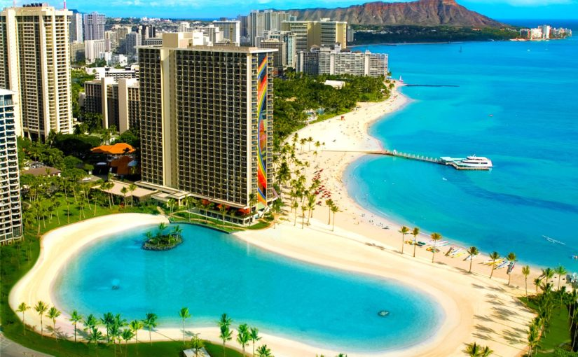 Hilton Hawaiian Village Waikiki Beach Resort夏威夷威基基海滩希尔顿度假村