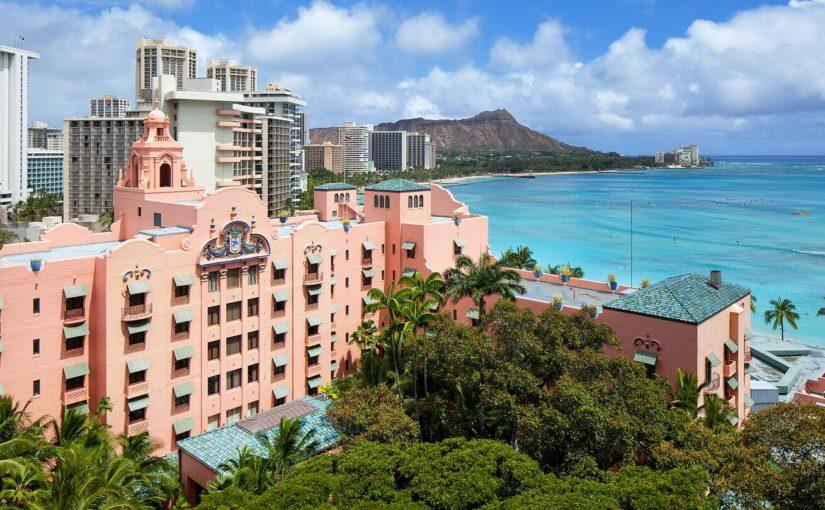 皇家夏威夷酒店The Royal Hawaiian, a Luxury Collection Resort, Waikiki, Honolulu, Hawaii