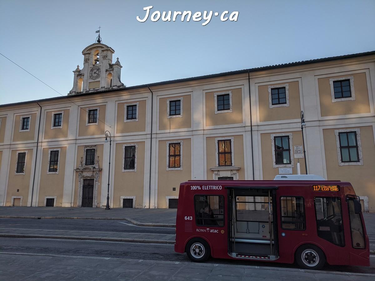罗马电动巴士