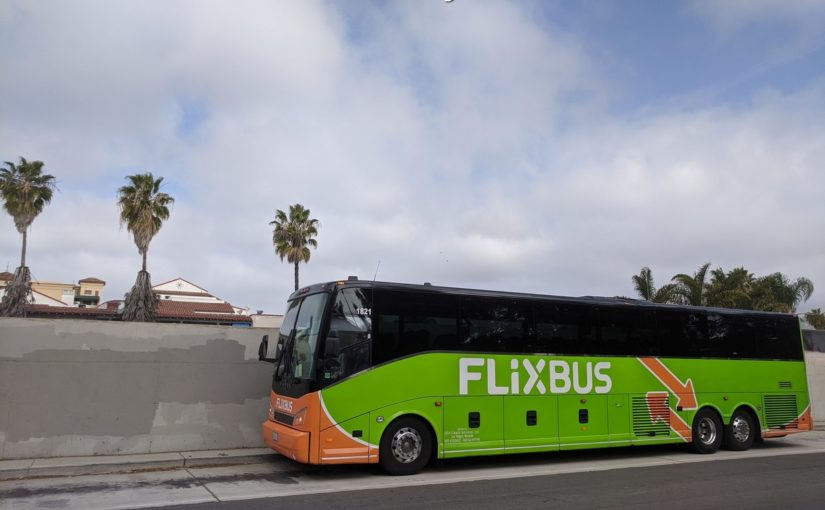 Flixbus Santa Barbara – Los Angeles Trip,  Travel During the Coronavirus Outbreak