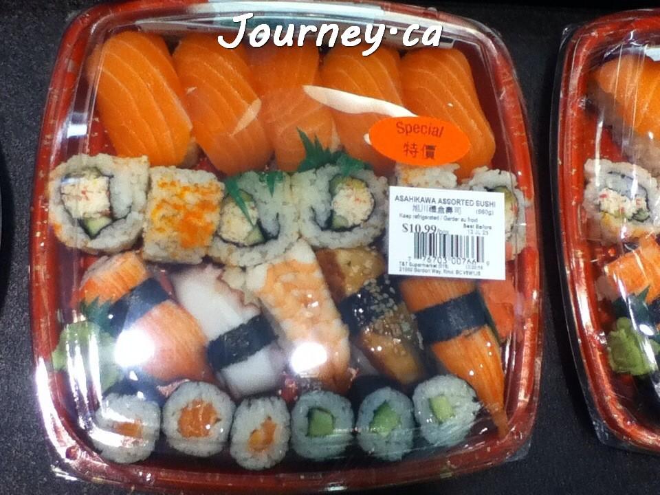 寿司10.99加元