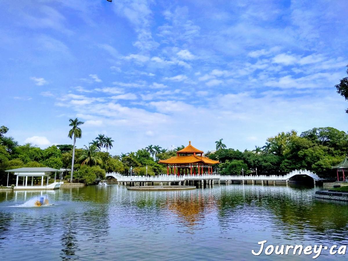 台南公园燕潭