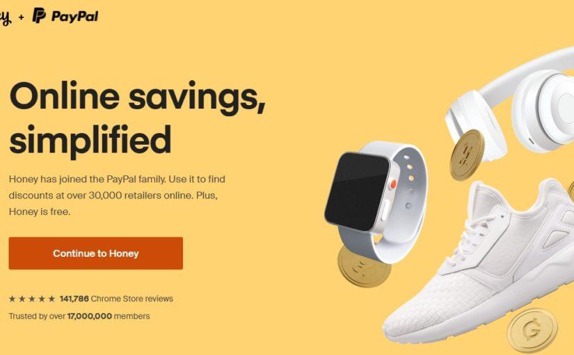 Honey购物优惠码+返利+比价 浏览器插件与网站攻略